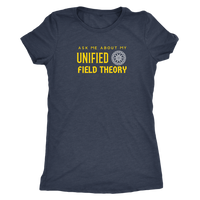 Unified Field Theory Unisex Short Sleeve Shirt