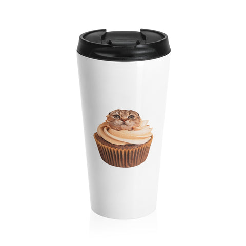 Moby's Stainless Steel Travel Mug