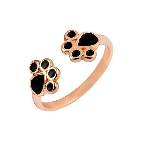 Jewelry - 2-Tone Cat Paw Ring