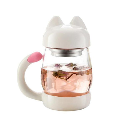 Mug - Cat Glass Mug