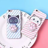 Phone Cases - 3D Kitty IPhone Case