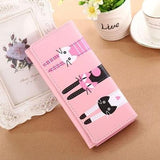 Wallet - 3 Cats Womens Long Wallet