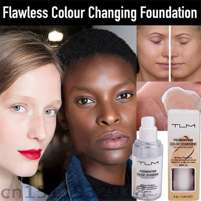 Flawless Color Changing Liquid Foundation (30ml)