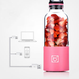 Portable USB Rechargeable Juicer & Blender