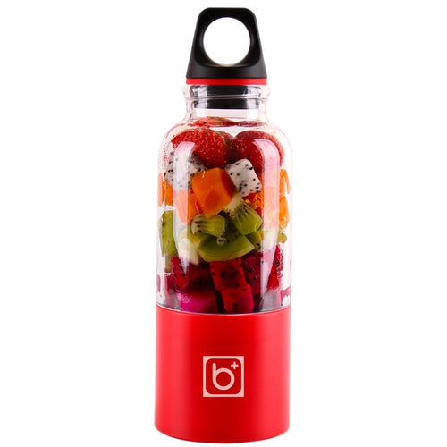 Portable Juicer Cup USB Rechargeable Bottle