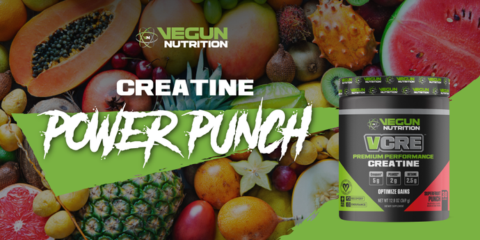 Creatine Power Punch Post Workout Smoothie