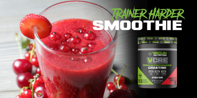 Train Harder Fruit Punch Smoothie