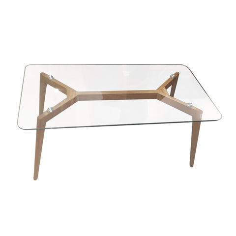 Elstead Glass Coffee Table