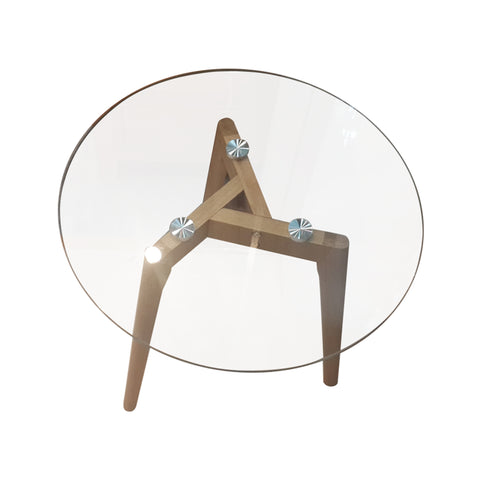 Elstead Glass Side Table
