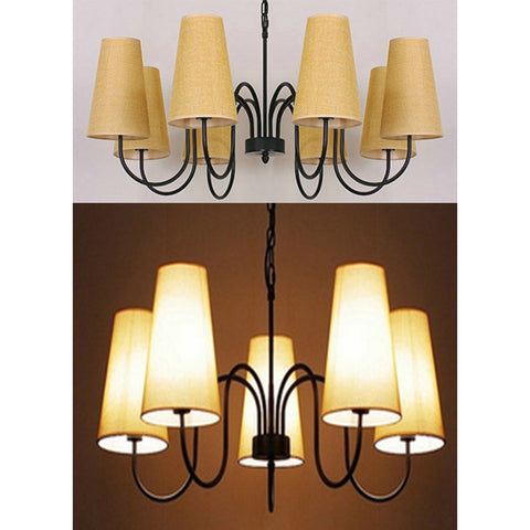 Hanging Lamp Beige