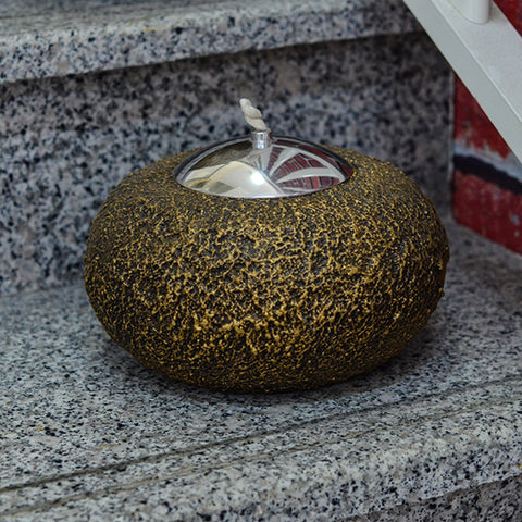 Garden Light Oil Burner Donut