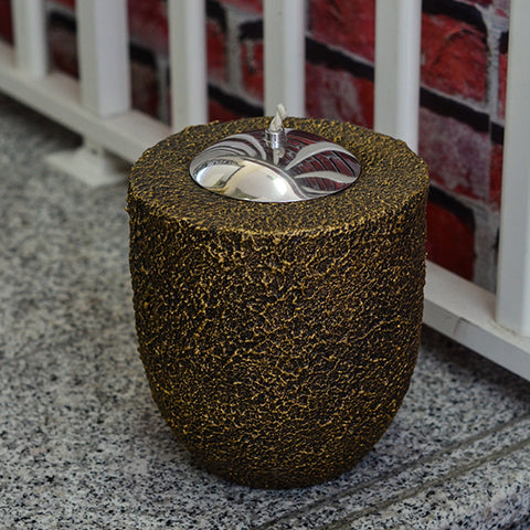 Garden Light Oil Burner Gold