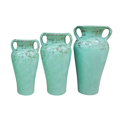 Pots Set of 3 Urn with Handle