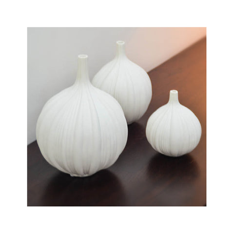 Vase Set of 3 Allium