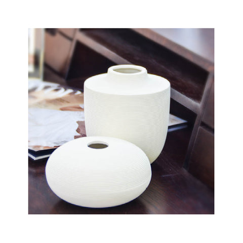 Vase Set of 2 Ripple
