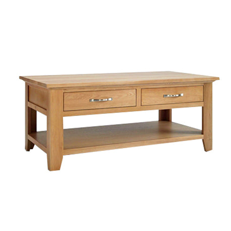 Ascot Coffee Table with Drawers