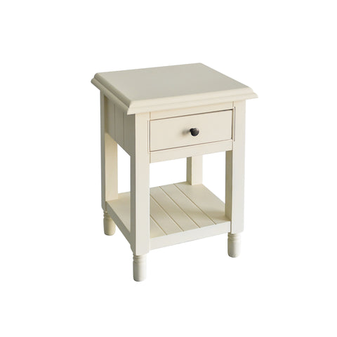 Classic Chic Lamp Table with Drawer