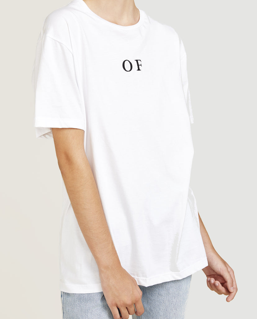 White, T-shirt, OF, OF, By Amanda, Shadforth, Oralce, Fox