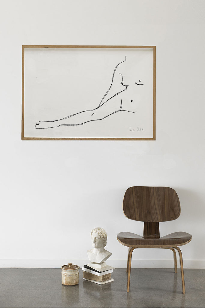 Nude Woman in Seated Position