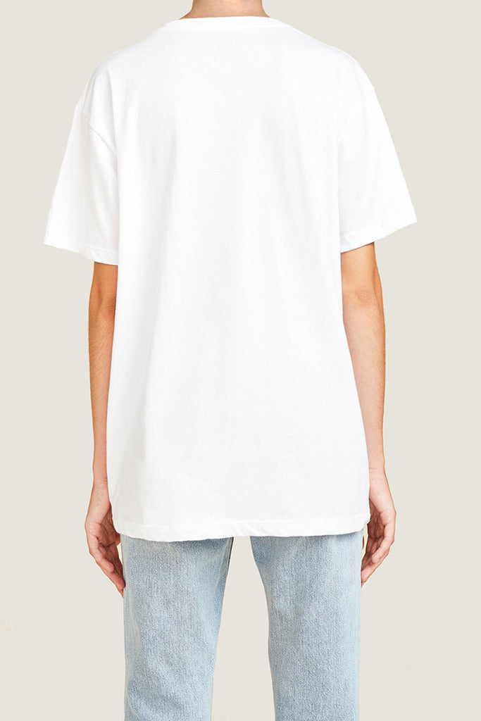 White, T-shirt, At, A, Glance, OF, By Amanda, Shadforth, Oralce, Fox