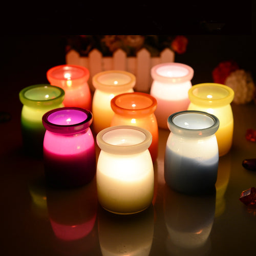 1Pcs 5.3x7.5cm fragrance Candles Aromatherapy smokeless candles essential oil
