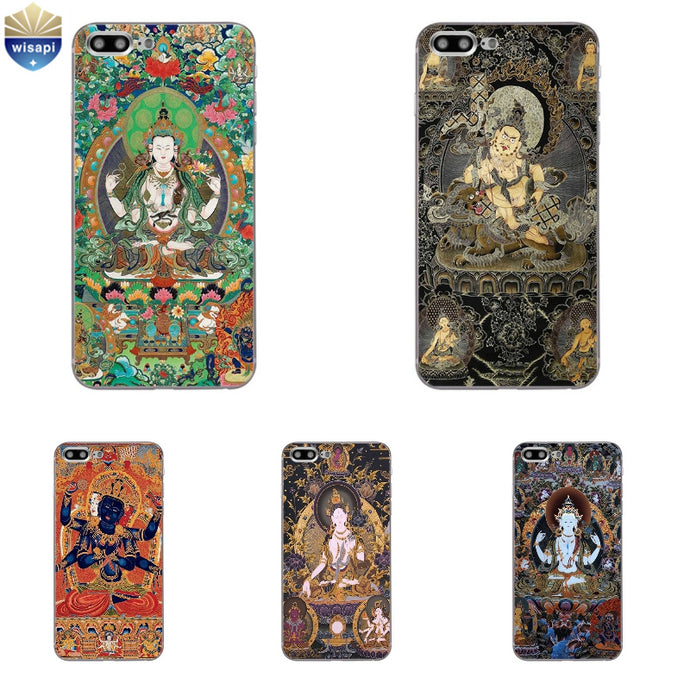 Buddhist/Hindu Iphone Case Drop Protector w/options