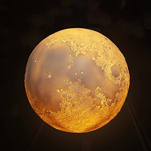Rechargeable 3D Moon Lamp
