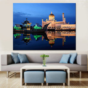 Wall Art Canvas Islamic Pictures