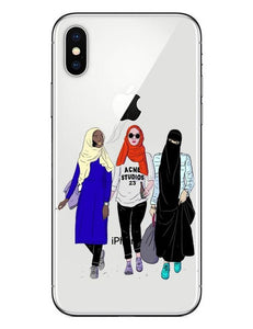 Muslim Phone Case Iphone  Girl Hard Plastic