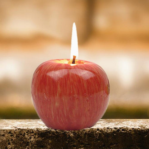Simulation Apple-shaped Fragrant Candle Fruit Scented Candles