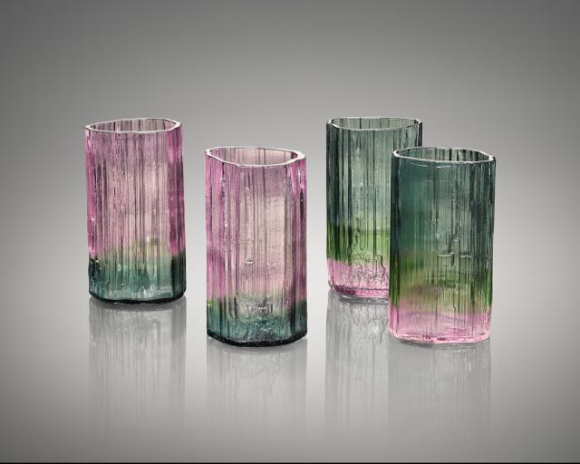 Tourmaline tumbler glasses (set of 4)