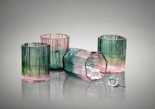 Tourmaline Rocks glasses (each)