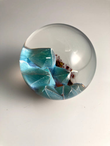 Turquoise Orb 2""