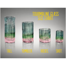 Tourmaline glass (set of 2) tumbler