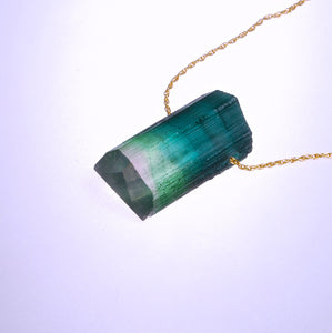 Glass Tourmaline Pendant (Boroline)