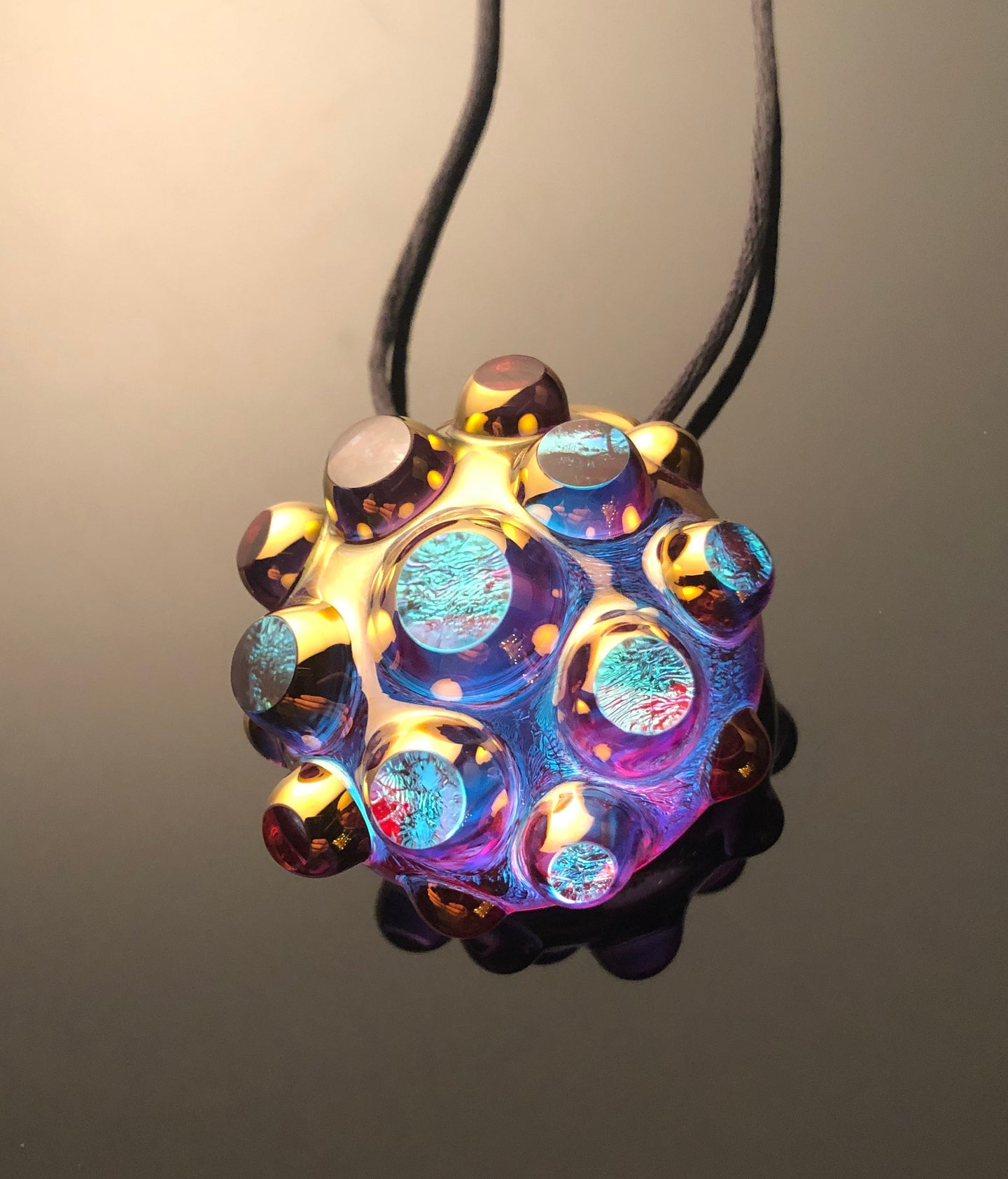Golden Ticket pendant (Technicolor dream)