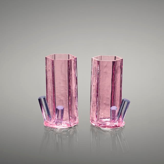 Beryl shot glasses (pair)