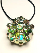 Contemporary Art Nodule Pendant (colors of a dream from ten years ago)