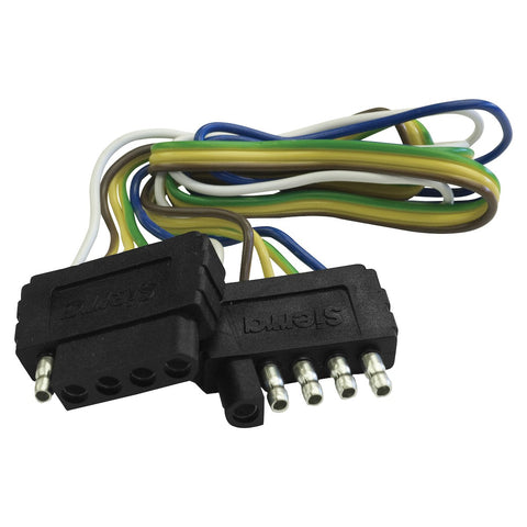 Trailer - 5 Way Wire Harness Extension - 48""