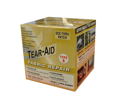 "Care Products - Tear Aid - Fabric Repair - 3"" x 5'"