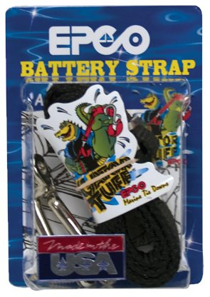 "Battery Strap - 1"" wide - 4"" long - EPCO"