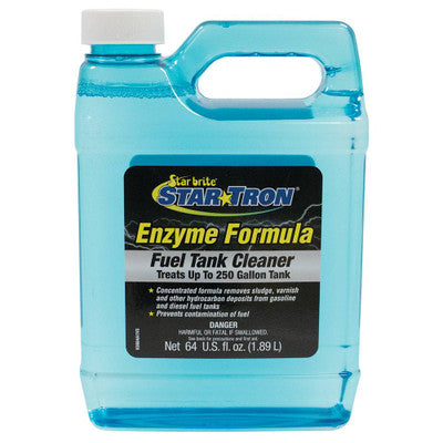 Fuel Tank Cleaner - Enzyme Formula - 64 fl. oz. - Star Tron/Starbrite