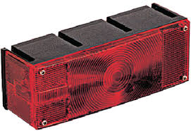 Trailer Tail Light - Optronics - Passenger Side