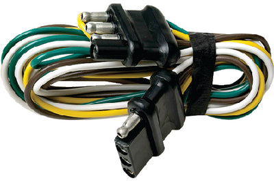 Trailer - 4 Way Wire Harness Extension - 48""