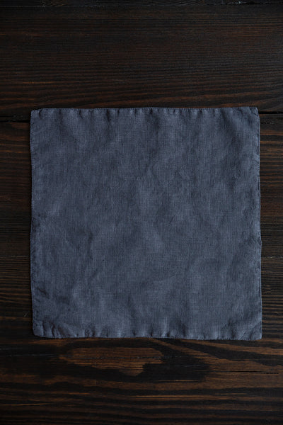 Graphite Linen Table Napkins
