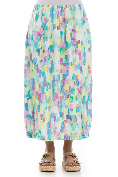 Balloon Confetti Linen Skirt