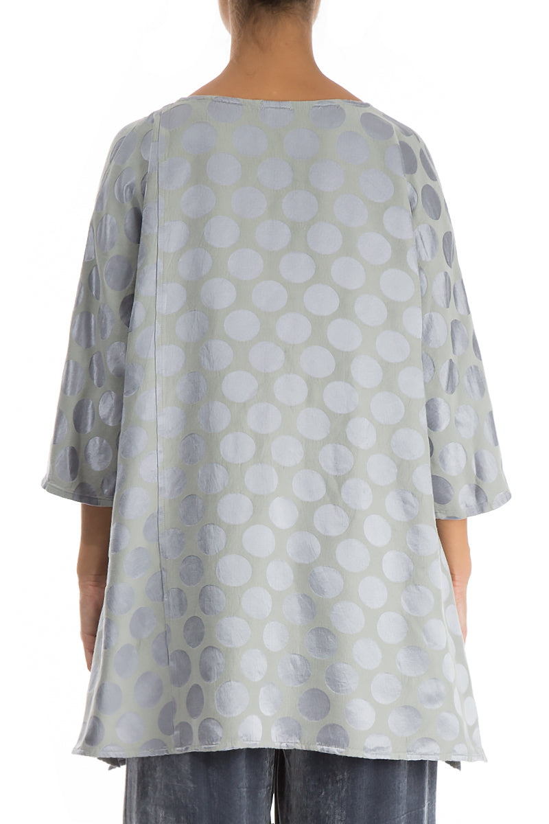 Bubble Grey Silk Cotton Tunic