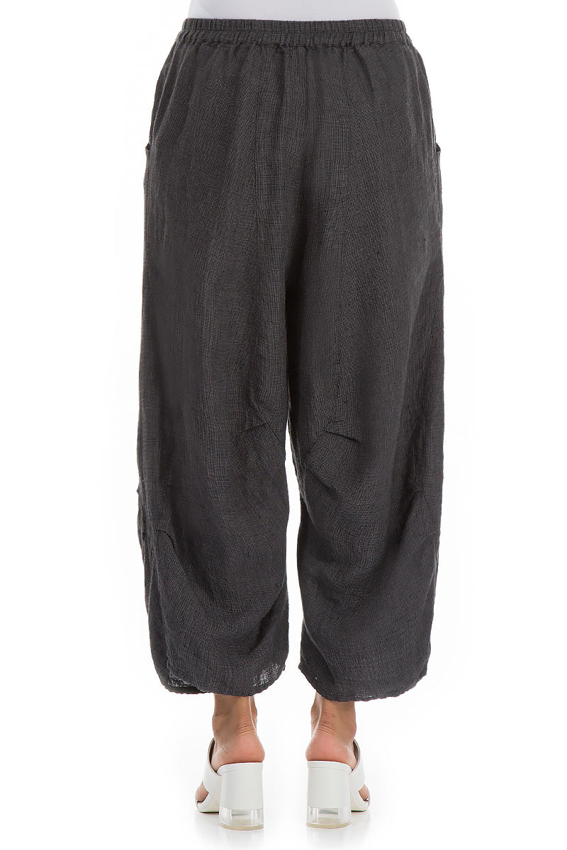 Tweedy Linen Trousers