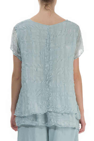 Layered Breeze Light Silk Blouse