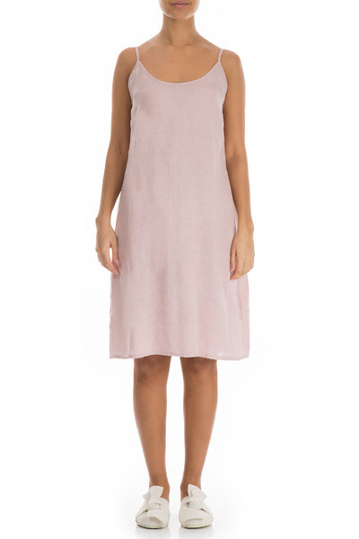 Light Pink Linen Night Dress